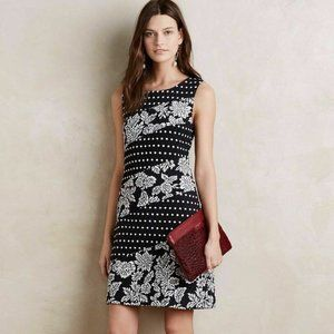Anthropologie Maeve Effemy Knit Shift Dress
